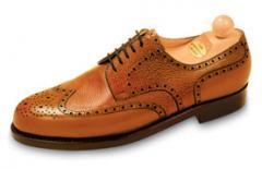 Konyak szinü férfi cipő