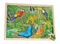 Dzsungel világa kirakó, 48 db