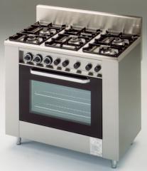 5 Lángos Gáztűzhely Elektromos Sütővel