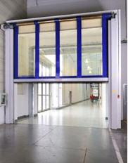 SRT Gyorsmozgású feltekeredő kapu