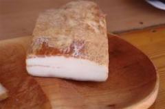 Mangalica kenyérszalonna