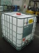 Fémraklapos tisztított 1000 literes tartály