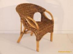 Karavan étkező szék méz