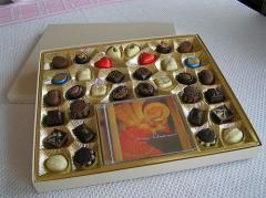 Édességek dekor csomagolásban