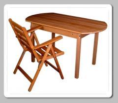 Összecsukható karfás szék