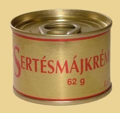 Sertésmájkrém 62 g / tépőzáras