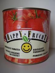 Happy Frucht kockázott paradicsom