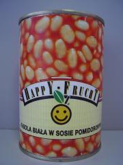 Fehérbab paradicsomszószban Happy Frucht fehérbab