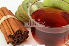 Ízesített gyümölcs tea, fahéj aromával