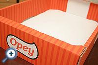Flexo nyomtatott papir doboz
