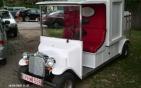 Fagylalt hűtős elektromos autó