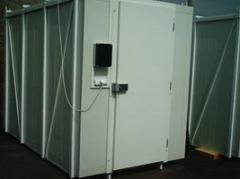 Daruzható konténer hűtőkamra