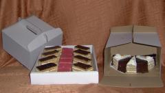Tortás, süteményes dobozok