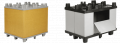 Összecsukható szállító láda (PP,PE)