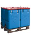 Műanyag mobil boksz 170 l-es