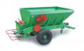 RCW 3000, 5500, 10000 vontatott kéttárcsás mész- és műtrágyaszórók