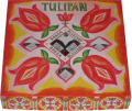 """""""Tulipán"""" négyféle ízű gyümölcsdesszert diszdobozban"""