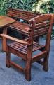 Fa kerti szék