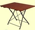 Windsor szegletes lécezett asztal