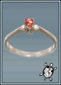Drágaköves gyűrű