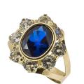 Arany gyűrű cirkónia kővel