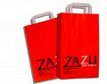 Szalag- és sodrott papírfüles táskák