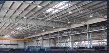 Megrendelés Ipari acélszerkezetű épületek épitése