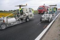 Megrendelés Csökkentett oldószertartalmú festékkel készült útburkolati jelek