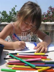 Szolgáltatások a kreatív gyermekek fejlődéséjért