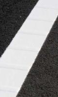 Hidegplasztik útburkolati festékkel készült jelek