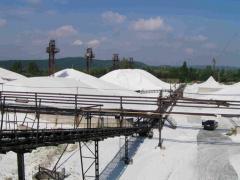 Kvarchomokok bányászat