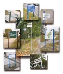 Utcatáblák, útbaigazító táblák