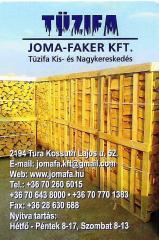 Tűzifa kalodába EU export